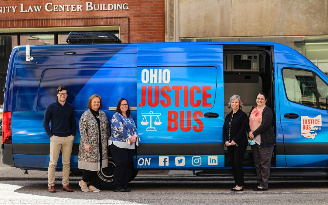 Ohio Justice Bus Visits Volunteer Lawyers Project
